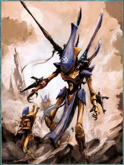 Iyanden Wraithlord Guardians