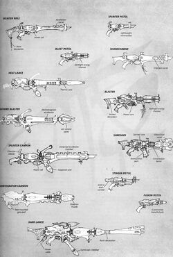 Dark Eldar Ranged Weaponry