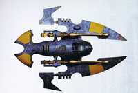 Eldar Hornet Tank of Craftworld Alaitoc