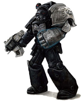 Deathwatch 1st Co. Veteran