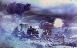 DK Infantry night raid