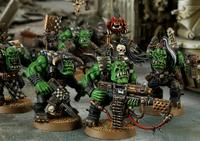 Ork Nobz Mob