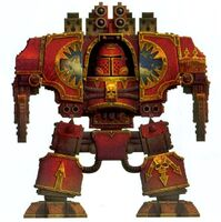 World Eaters Chaos Dreadnought