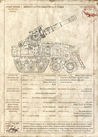 File:Ork Supa-Kannon Battlewagon Ordo Xenos Record.png