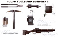 Krieg Engineer Equipment