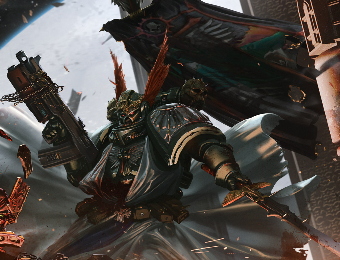 Grand Master Belial -   DARK ANGELS   - The Bolter and Chainsword