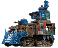 Deathskulls Battlewagon Da Rumblefort