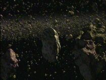Caliban asteroid belt
