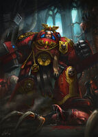 Blood angel veteran by artofjustaman