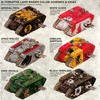 Space Marine Alternative Land Raider Camo