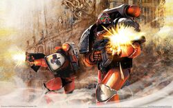 Blood Ravens Battle