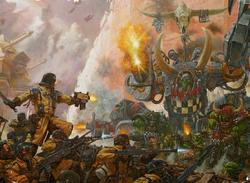 Ghazghkull Armageddon Steel Legion