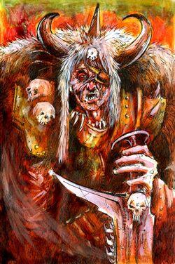 Techno barbarian john blanche