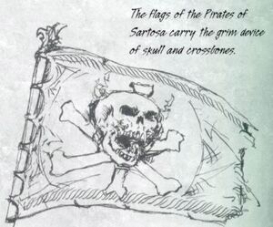 Warhammer Sartosa Flag