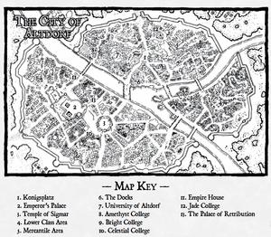 Warhammer Altdorf Map