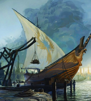 Warhammer High Elves Ship