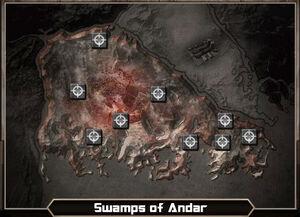 TMapSwamps of Andar