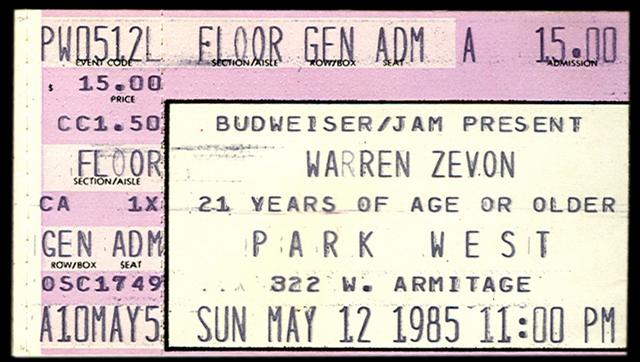 File:1985-05-12-Warren-Zevon-Chicago-Ticket-Stub.png