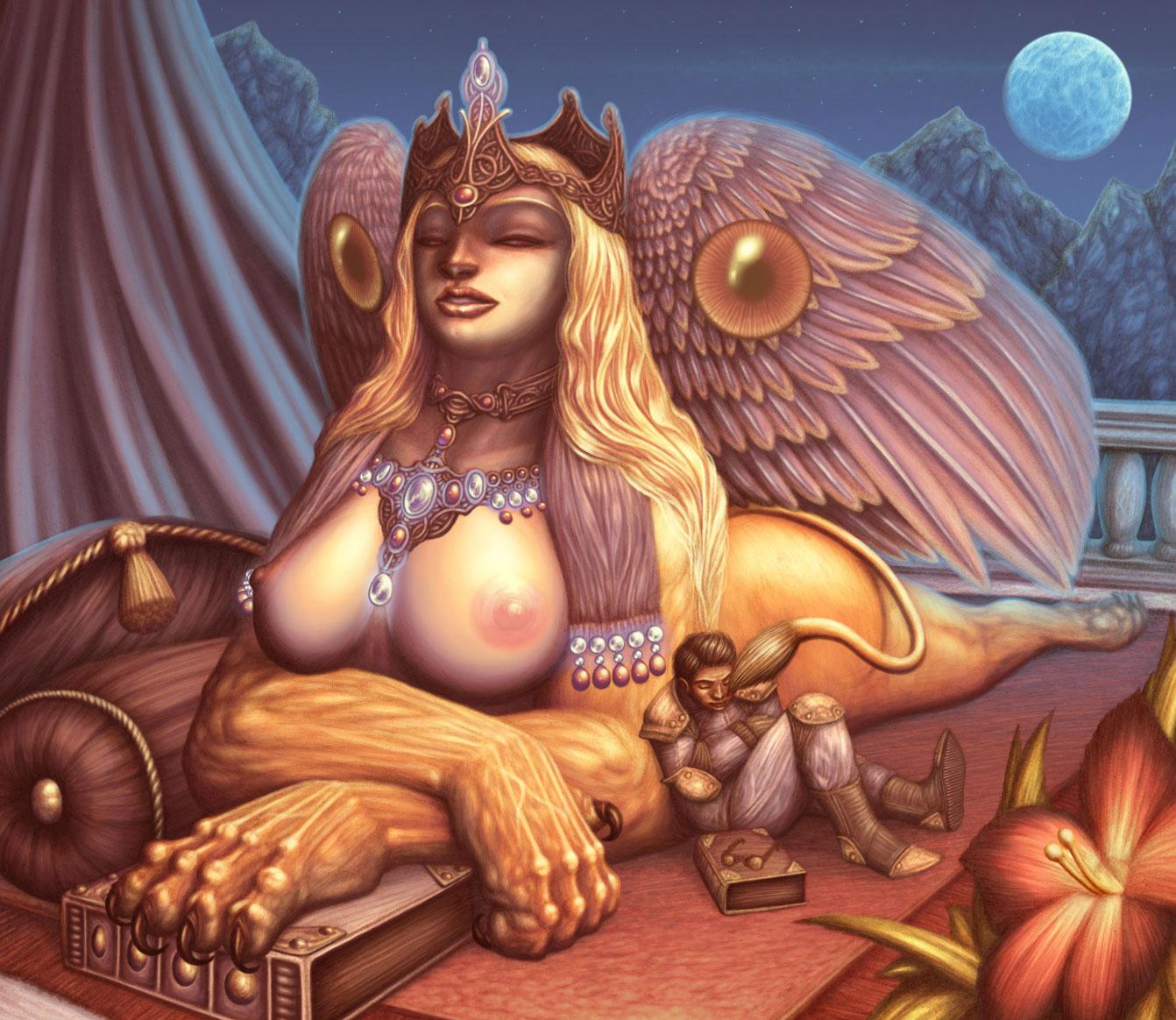 Mythology porn naked pics