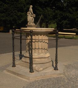 Ogród Saski (zegar słoneczny).JPG