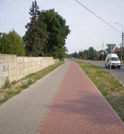 Mozaikowa (sciezka rowerowa).JPG
