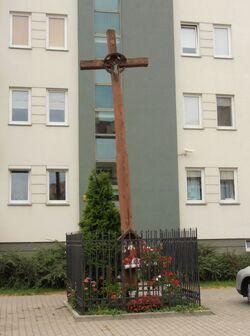 Nowoursynowska (krzyż przydrożny).JPG
