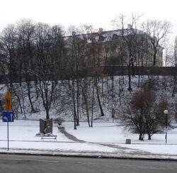 Pałac Kazimierzowski (widok od Browarna).JPG