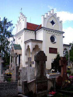 Cmentarz Wilanowski (kaplica).JPG