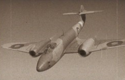 Gloster Meteor F.3 Jet