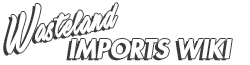 Wasteland Imports Wikia