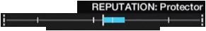 Reputation bar at Protector rank