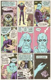 Watchmen Comic Page