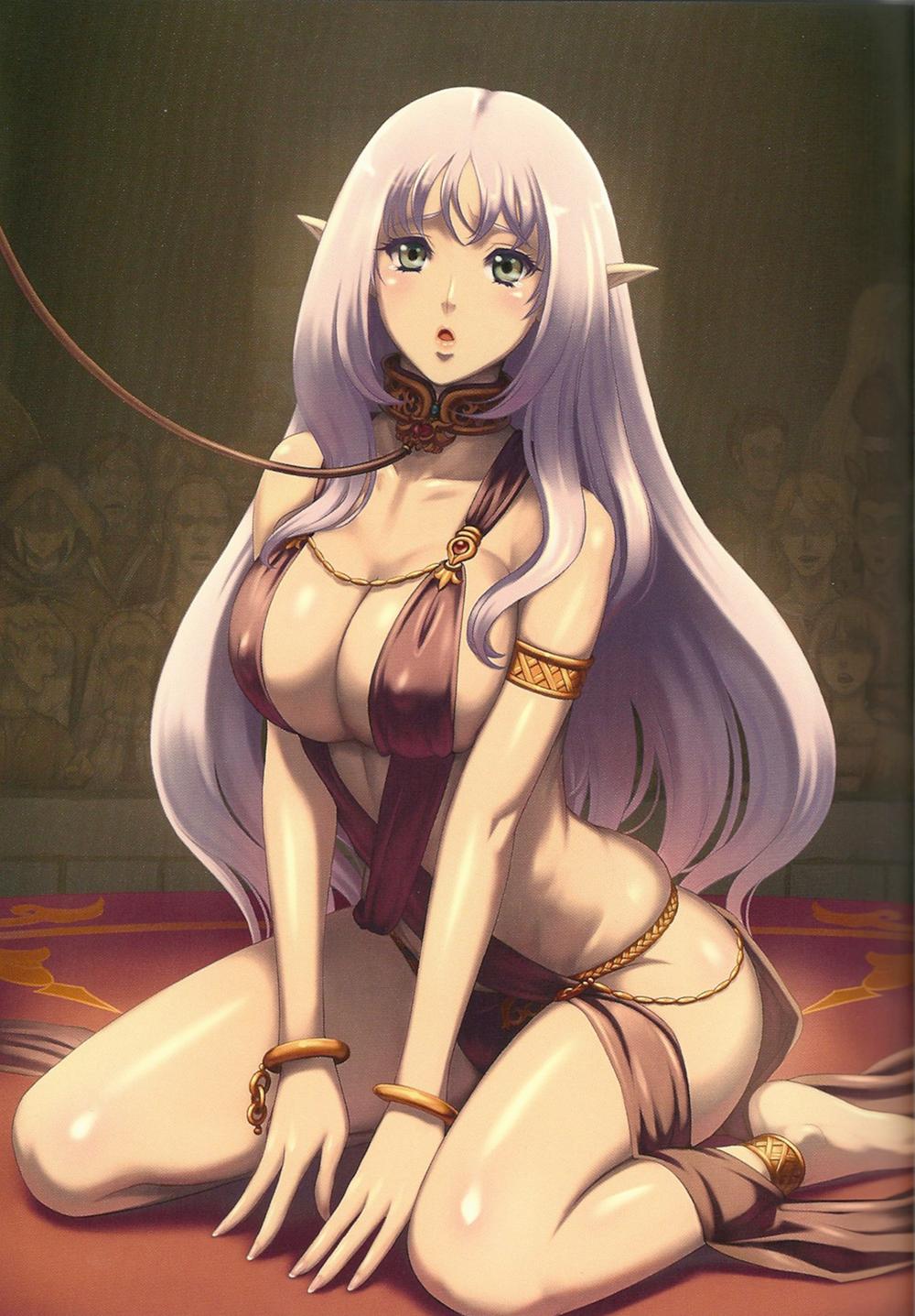 Dark elf queen nude sex scene
