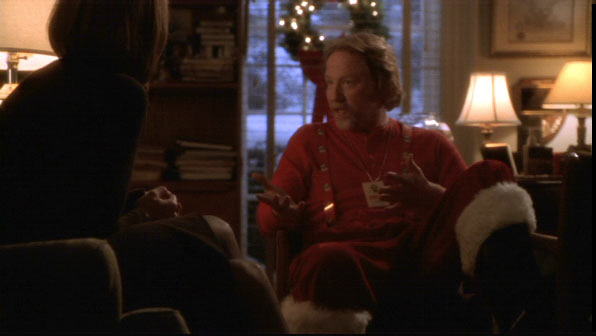 Image result for the west wing season four danny as santa