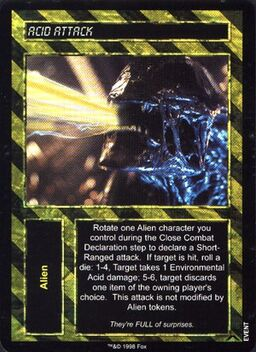 Aliens Predator CCG 1