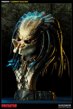Predator Legendary Scale Busts unmasked