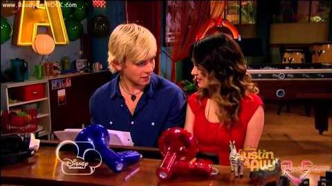 Austin & Ally - Campers and Complications piano scene