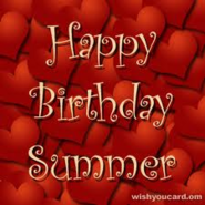 Happybirthdaysummer