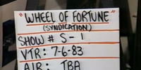 Wheel of Fortune timeline (syndicated)/Season 1