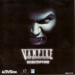 Vampire The Masquerade - Redemption cover eur