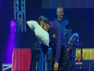 JeffSleepinginChristmasCelebration!Tour