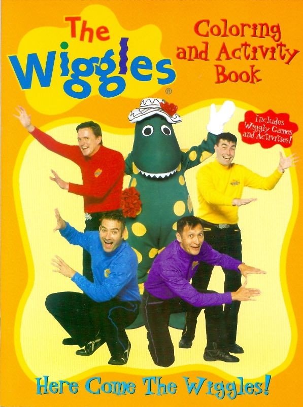 Here Come The Wiggles Coloring Book