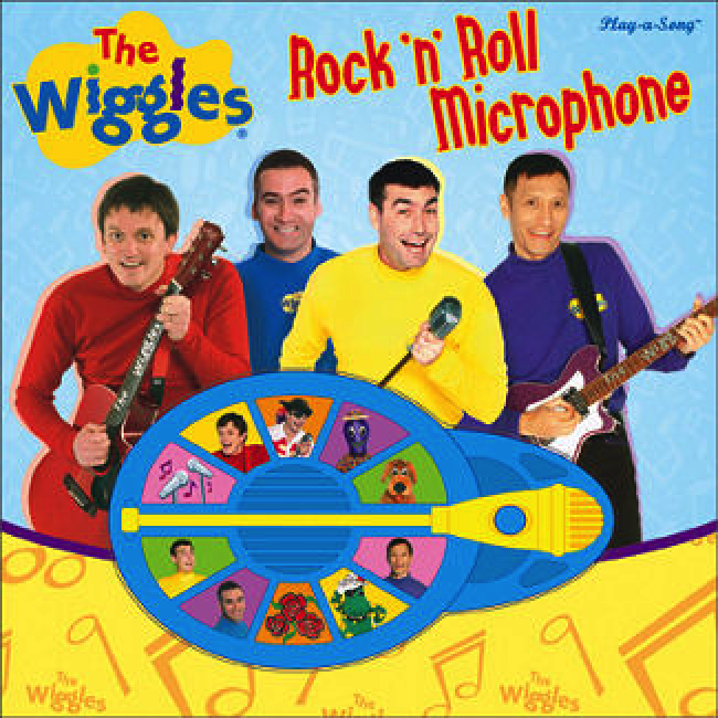 The Wiggles Rock n Roll Microphone Interactive Play a Song Electronic Sound book