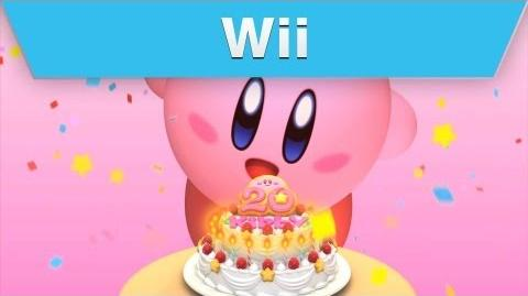 Wii - Kirby's 20th Anniversary Dream Collection Launch Trailer