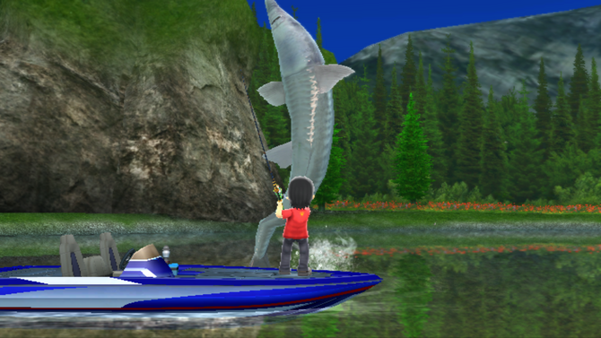 Wii fishing resort wiki for Fishing resort wii