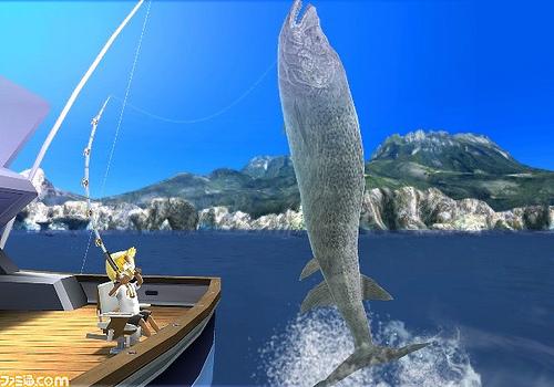 Cruiser wii fishing resort wiki fandom powered by wikia for Fishing resort wii