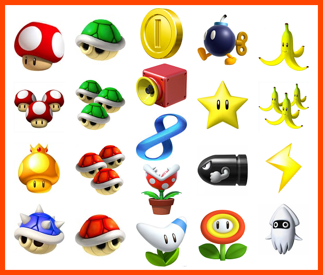 Objets wiki mario kart fandom powered by wikia - Tous les personnages mario kart wii ...