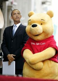 Winnie the pooh and ahmadinejad too