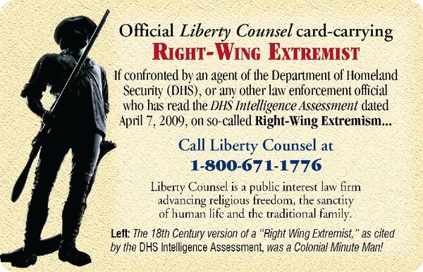 Lc extremist card front