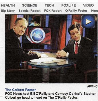StephAn Colbert on Factor